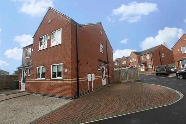 Thumbnail Semi-detached house to rent in Amber Grove, Forest Town, Mansfield