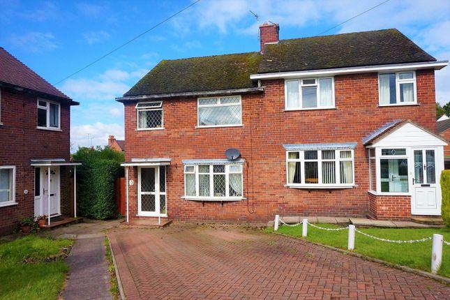 Thumbnail Semi-detached house for sale in Johnson Crescent, Kingsley, Stoke-On-Trent