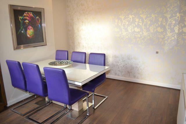 Dining Room of Shelley Street, Poets Corner, Northampton NN2
