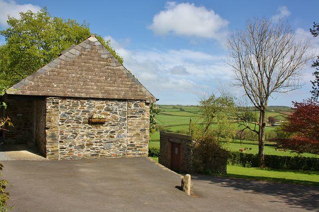 Thumbnail Barn conversion to rent in Near Portgate, Lifton