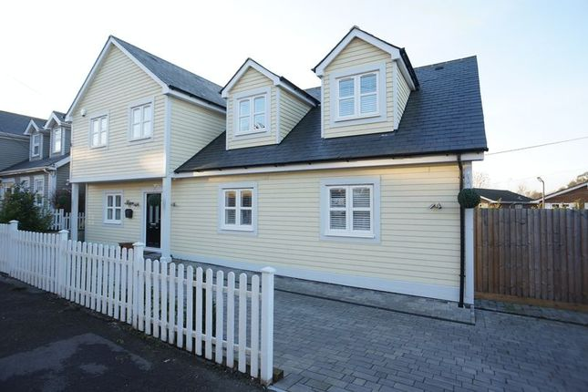 Thumbnail Detached house for sale in Crescent Road, Benfleet