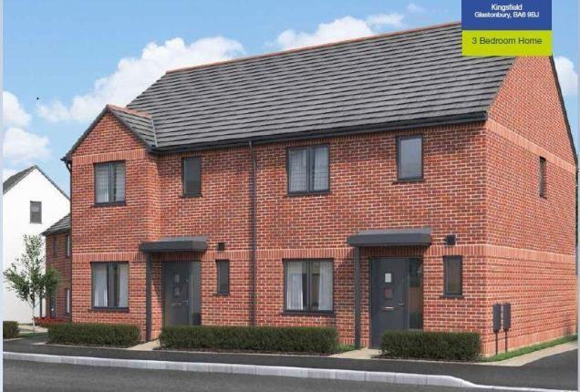 Thumbnail Semi-detached house for sale in Bath Close, Glastonbury