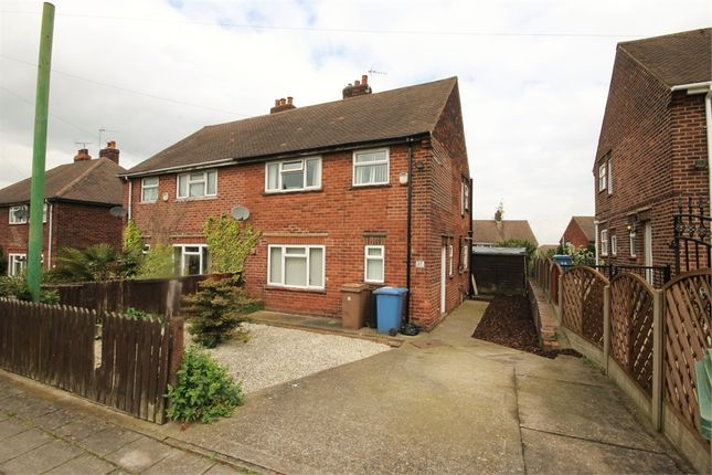 Thumbnail Semi-detached house for sale in Elm Tree Avenue, Mansfield Woodhouse, Mansfield, Nottinghamshire