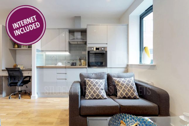 Thumbnail Flat to rent in Onyx Residence, 111 St Mary's Road, Sheffield