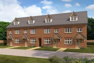 Thumbnail Town house for sale in Woodford Garden Village, Chester Road, Woodford, Cheshire