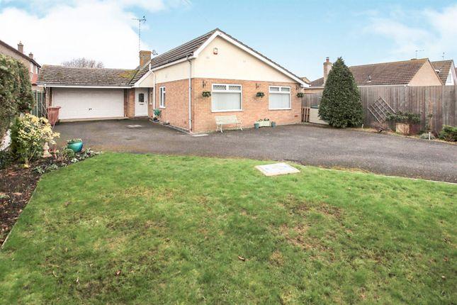 Thumbnail Detached bungalow for sale in Soke Road, Newborough, Peterborough