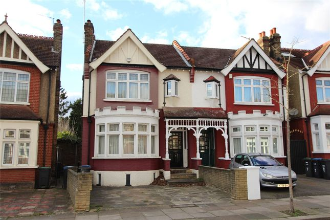 Thumbnail Semi-detached house for sale in Derwent Road, Palmers Green, London
