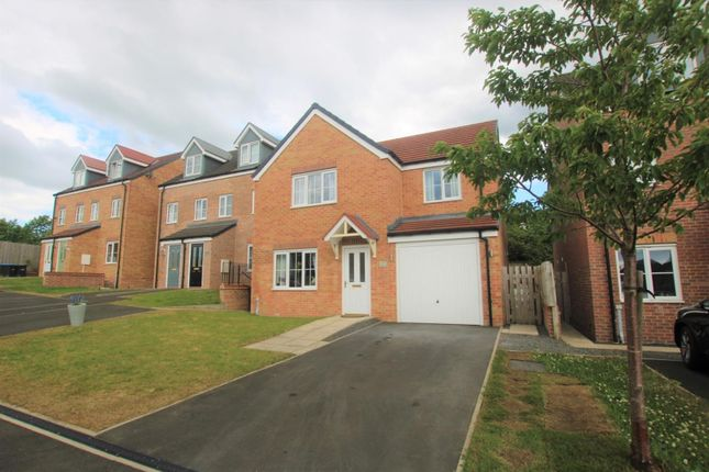Thumbnail Detached house for sale in Hazelbank, Coundon Gate, Bishop Auckland