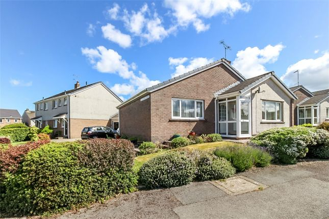 Thumbnail Detached bungalow for sale in 2 Blencathra Court, Cockermouth, Cumbria