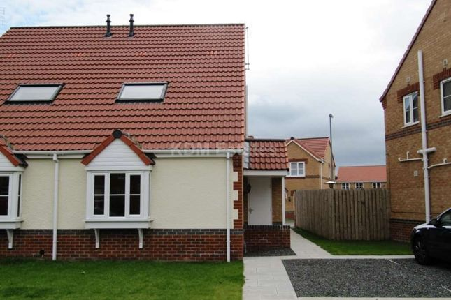Thumbnail Semi-detached house to rent in Warner Avenue, St. Helen Auckland, Bishop Auckland