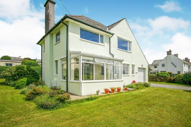 Thumbnail Detached house for sale in Lon Merllyn, Criccieth, Gwynedd