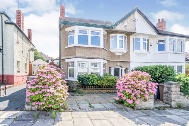 Thumbnail Semi-detached house for sale in Elm Park Road, Wallasey
