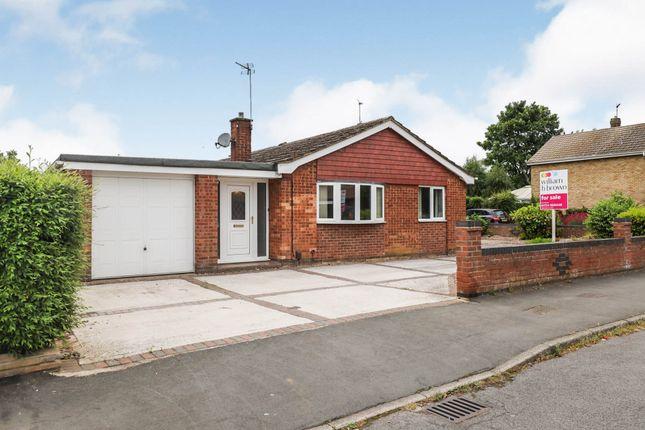 Thumbnail Detached bungalow for sale in Saxon Court, Bottesford, Scunthorpe