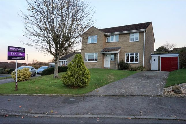 Thumbnail Detached house for sale in Sycamore Drive, Crewkerne
