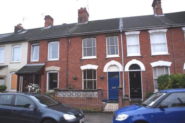Thumbnail 3 bed terraced house to rent in Alexandra Road, Beccles