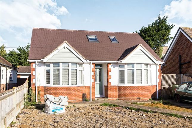 Thumbnail Detached bungalow for sale in The Crossway, Portchester, Fareham