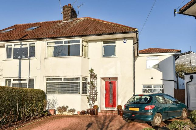 Thumbnail Semi-detached house to rent in Wentworth Close, Finchley