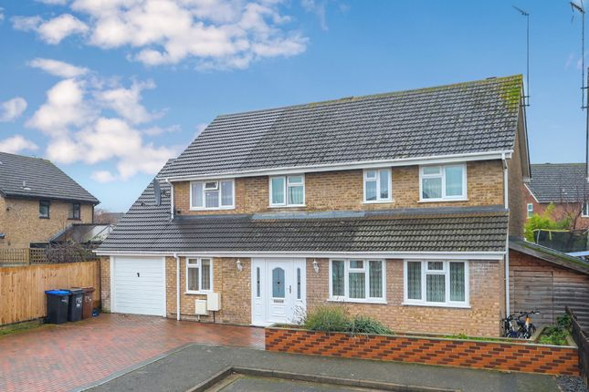 Thumbnail Detached house for sale in Baunhill Close, Abington Vale, Northampton