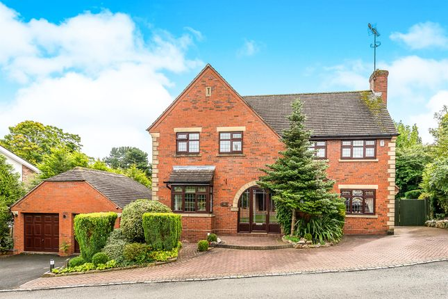 Thumbnail Detached house for sale in Rowley Hall Drive, Rowley Park, Stafford