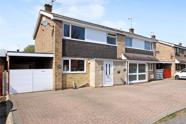 3 bed semi-detached house for sale in Pinnegar Way, Covingham, Swindon, Wiltshire SN3