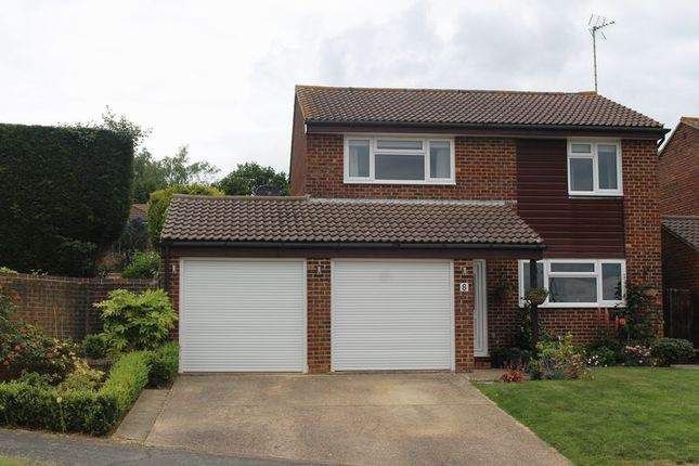Thumbnail 4 bed detached house for sale in Aviary Way, Crawley Down, West Sussex