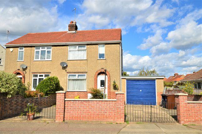 Thumbnail Semi-detached house for sale in Cavendish Avenue, Ols Heath, Colchester