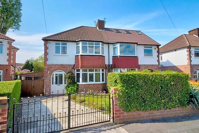 3 bed semi-detached house for sale in Arcadia Avenue, Sale M33