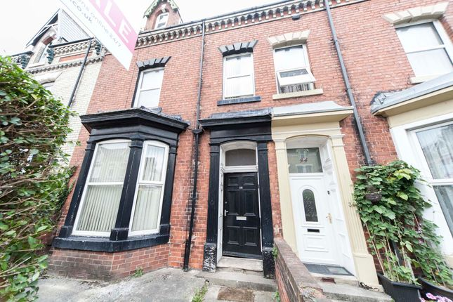 Thumbnail 7 bed terraced house for sale in Grange Road, Hartlepool