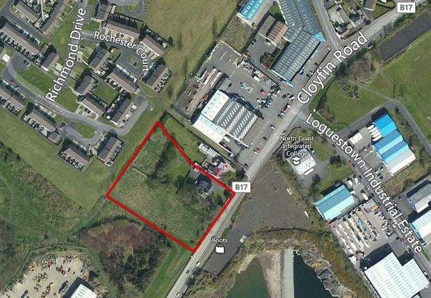 Thumbnail Land for sale in Cloyfin Road, Coleraine, County Londonderry