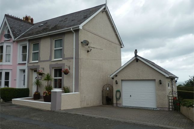 Thumbnail End terrace house for sale in Arba Cottage, New Quay, Ceredigion