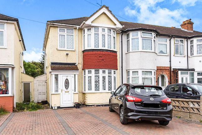 Thumbnail Semi-detached house for sale in Myrtle Avenue, Feltham