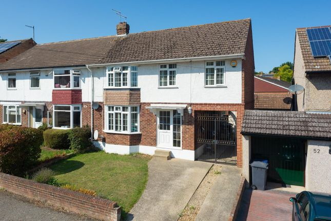 Thumbnail Semi-detached house for sale in Hillside Avenue, Canterbury