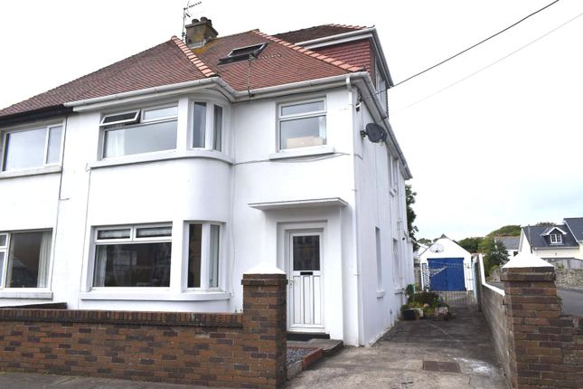 Thumbnail Semi-detached house for sale in New Road, Porthcawl