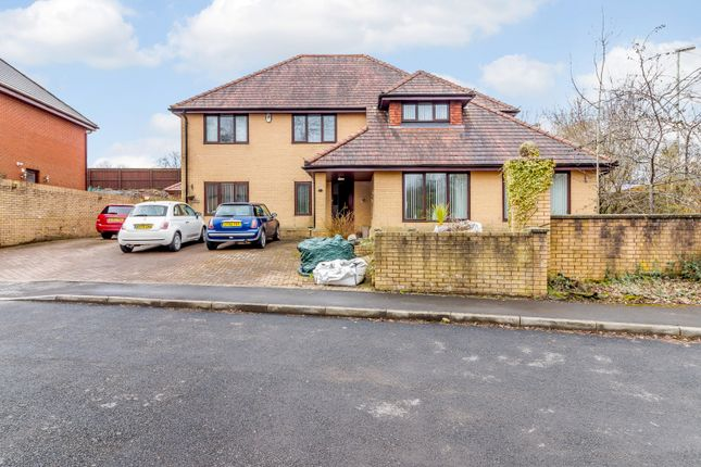 Thumbnail Detached house for sale in Copper Beeches, Penpedairheol, Hengoed