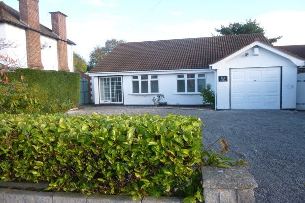 Thumbnail Bungalow to rent in Grasmere Road, Neston