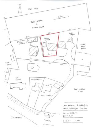 Thumbnail Land for sale in Plot 2, Green Farm Barns, Tibberton, Newport