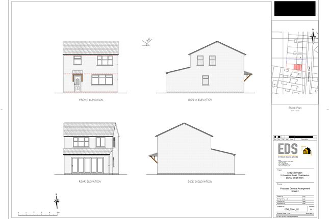 Thumbnail Detached house for sale in Lewiston Road, Chaddesden, Derby