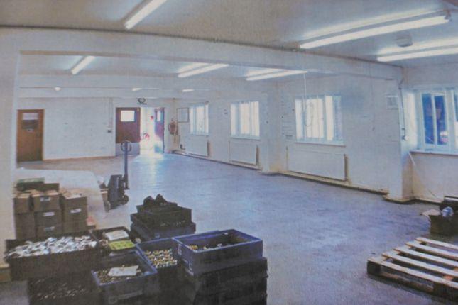 Workshop On Ground Floor