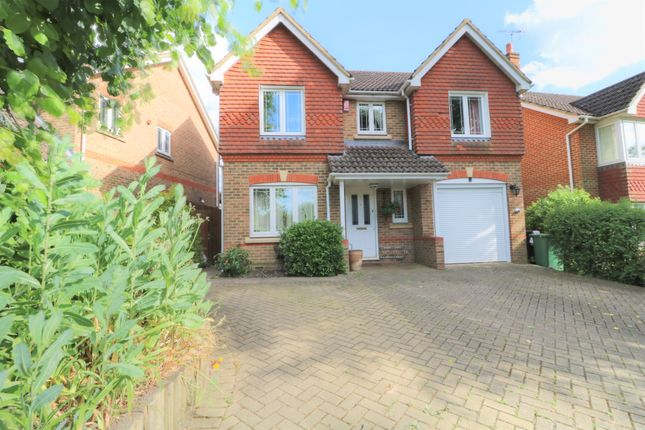 Thumbnail Detached house for sale in Cavell Way, Knaphill, Woking
