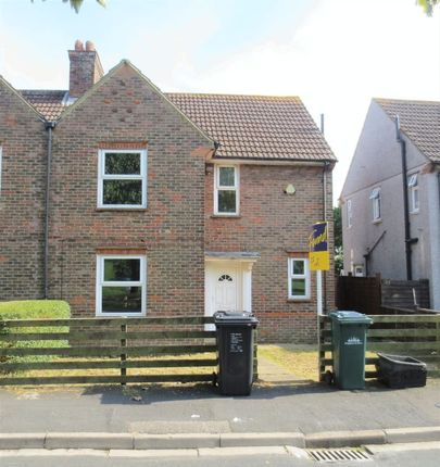 Thumbnail Semi-detached house to rent in Barcombe Road, Brighton