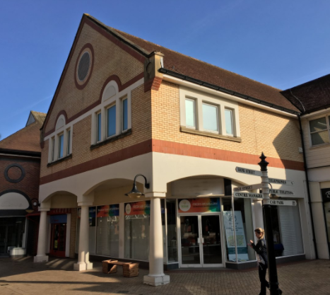 Retail premises to let in George Yard Shopping Centre, Braintree, Essex