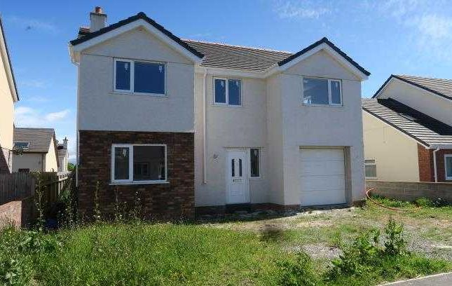 Thumbnail Detached house for sale in New Build, 22 Off Nant Y Pandy, Llangefni