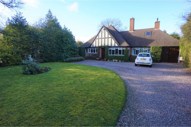 Thumbnail Detached bungalow for sale in Foley Rd East, Streetly, Sutton Coldfield