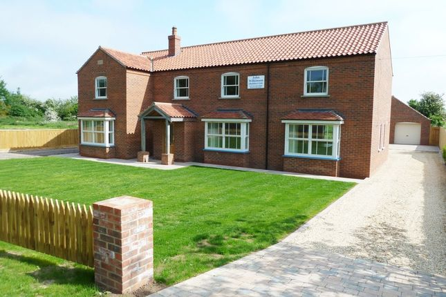 Thumbnail Detached house to rent in Wragholme Road, Grainthorpe, Louth