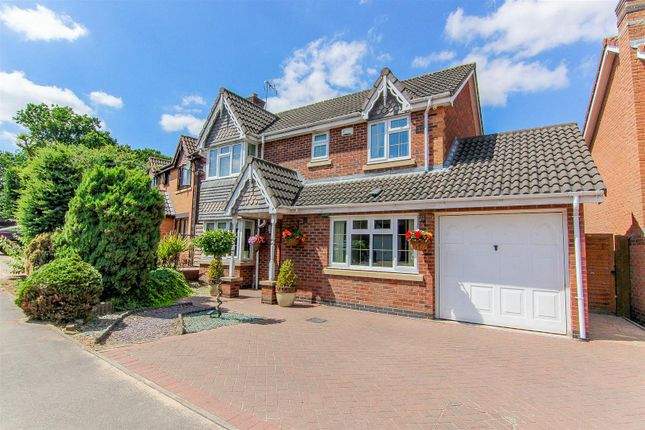Thumbnail Detached house for sale in The Sycamores, Bedworth