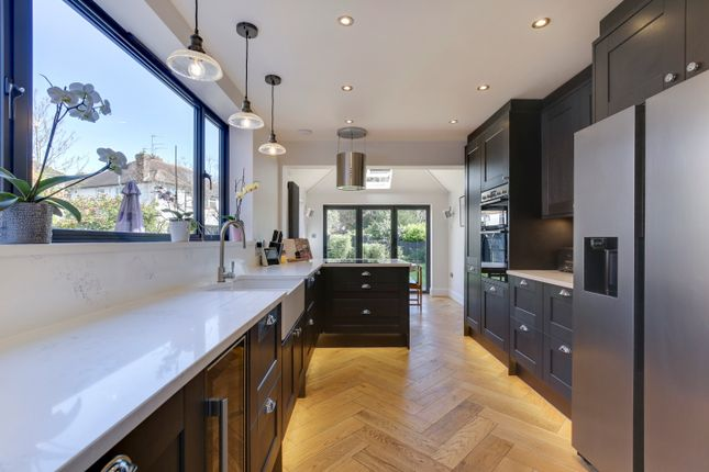 Thumbnail Semi-detached house for sale in Elm Park Road, Winchmore Hill