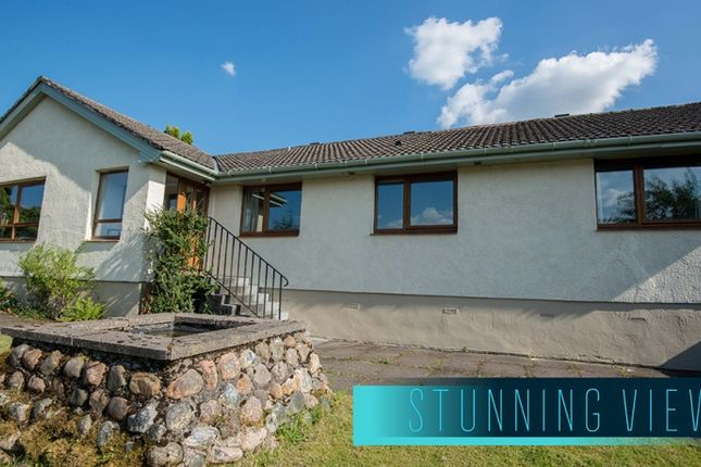 Thumbnail Bungalow for sale in 4 Hillside Estate, Fort William, Highland