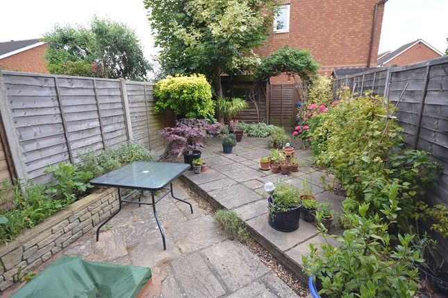 Garden of Golding Close, Chessington, Surrey. KT9