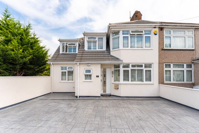 Thumbnail Semi-detached house for sale in Hyde Way, Hayes