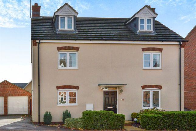 Thumbnail Detached house for sale in Lockhart Avenue, Oxley Park, Milton Keynes